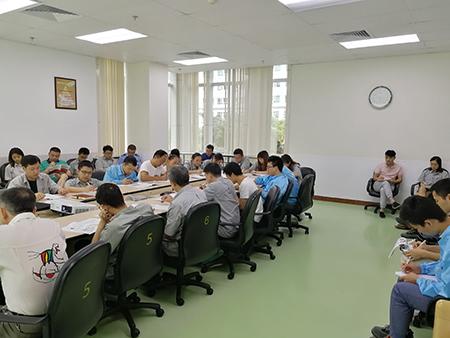 日发电子7S精益安全现场目视化管理工作坊培训